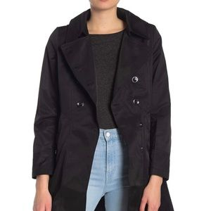 Via Spiga: Double Breasted Fit & Flare Trench Coat